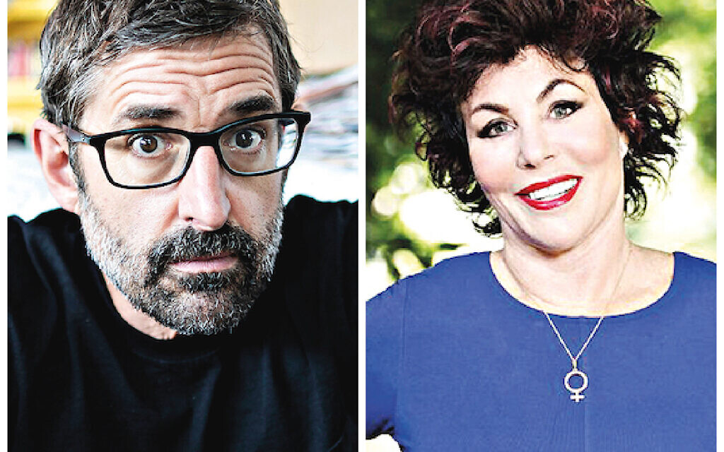 Louis Theroux and Ruby Wax