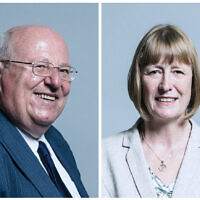 Mike Gapes and Joan Ryan