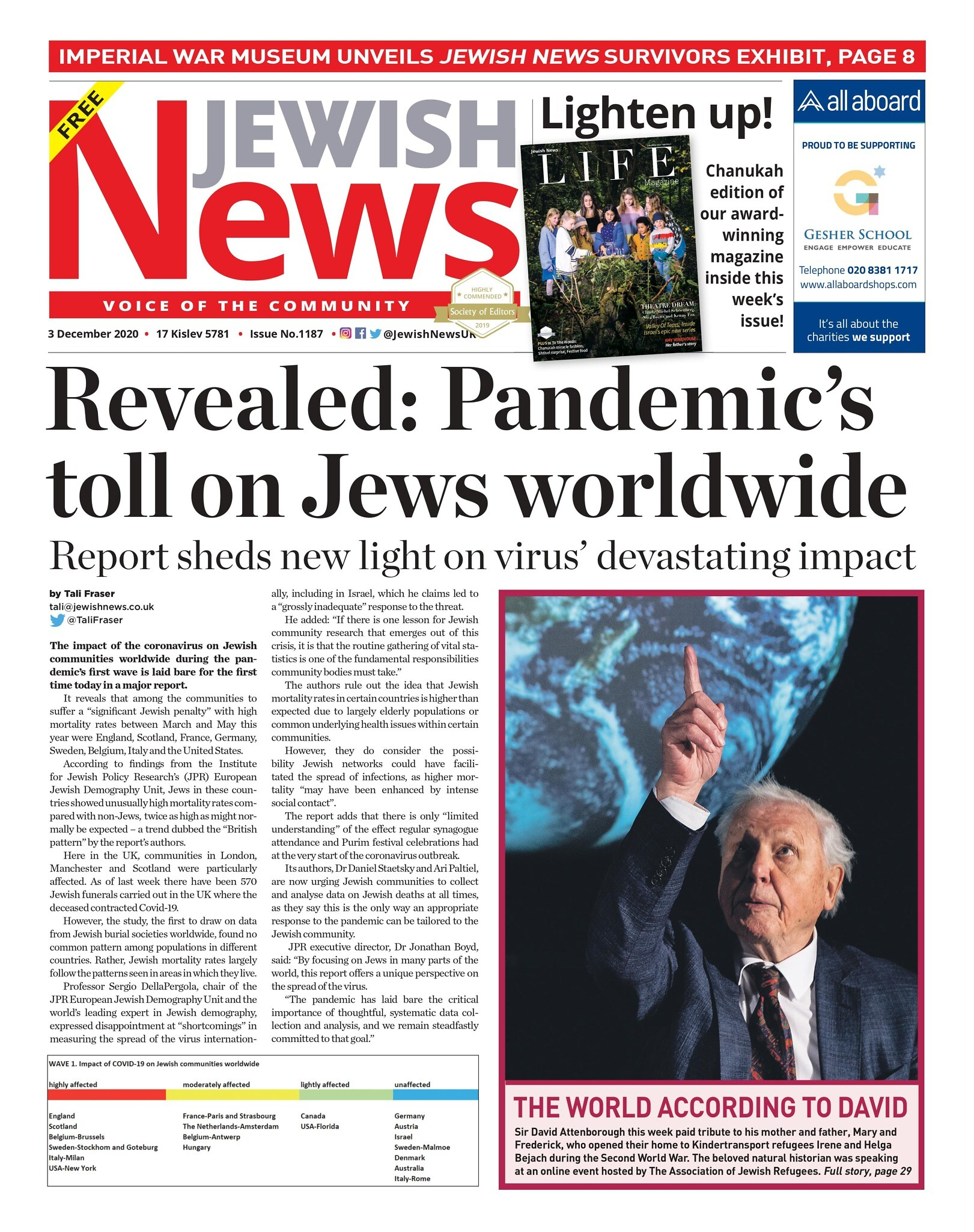 This week's Jewish News