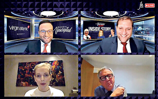 Rachel Riley and Lord Austin join the Rabbis Unscripted show, sponsored by Virgin Atlantic