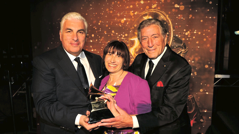 Mitch and Janis with Tony Bennett