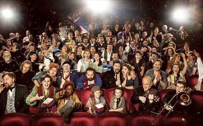 The cast of Les Misérables 2019