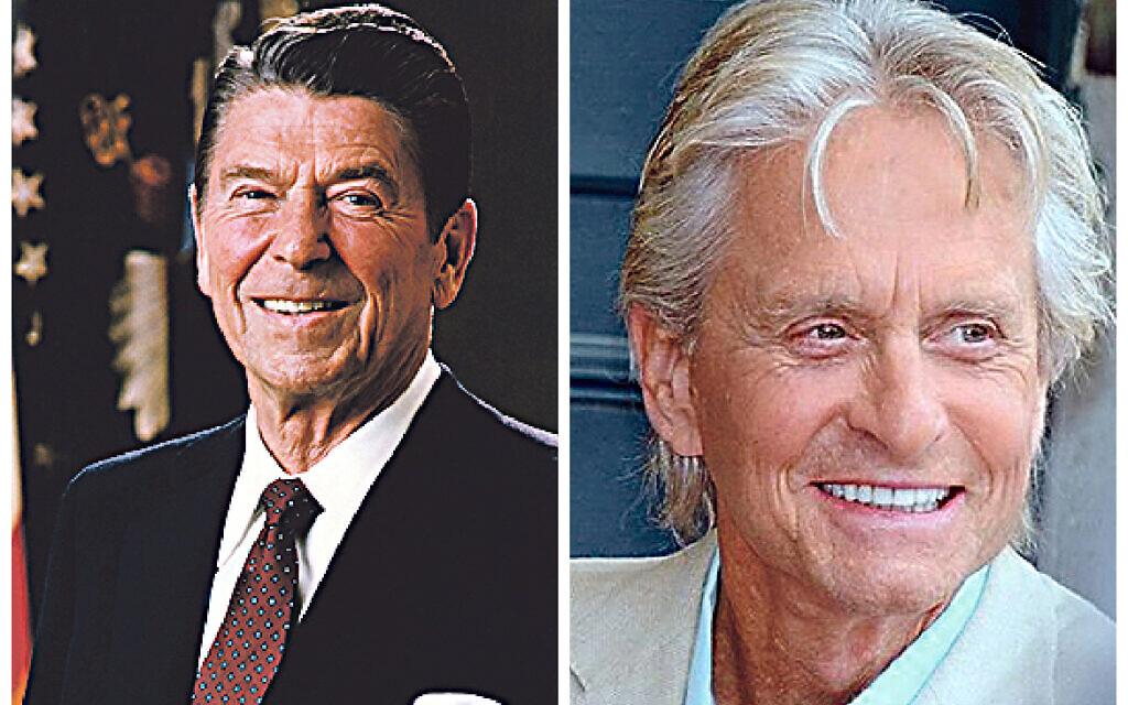 Ronald Reagan and Michael_Douglas