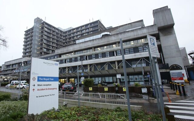 The Royal Free Hospital.