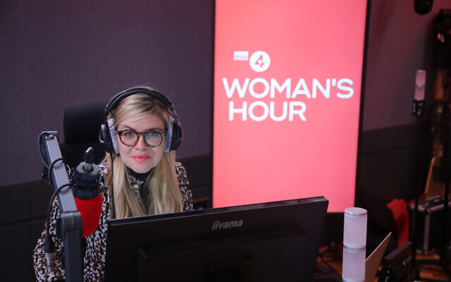 Emma Barnett on her first day hosting Woman's Hour on Radio 4.