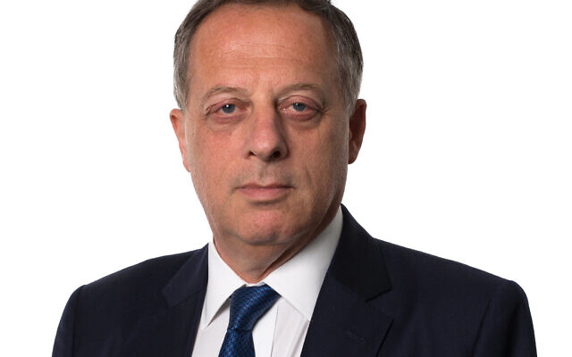 Richard Sharp, the former Goldman Sachs banker who will succeed Sir David Clementi as BBC chairman. (PA Media/Bank of England)