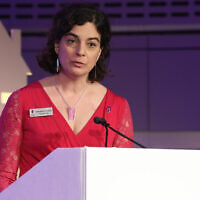 Olivia Marks-Woldman, Holocaust Memorial Day Trust chief executive, ur