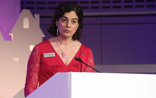 Olivia Marks-Woldman, Holocaust Memorial Day Trust chief executive, ur