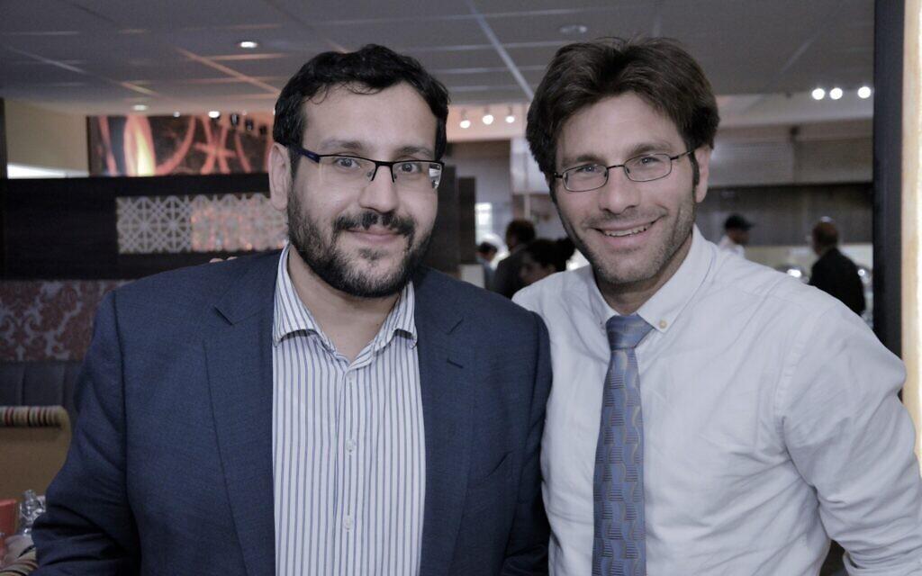 Mustafa Field and Rabbi Natan