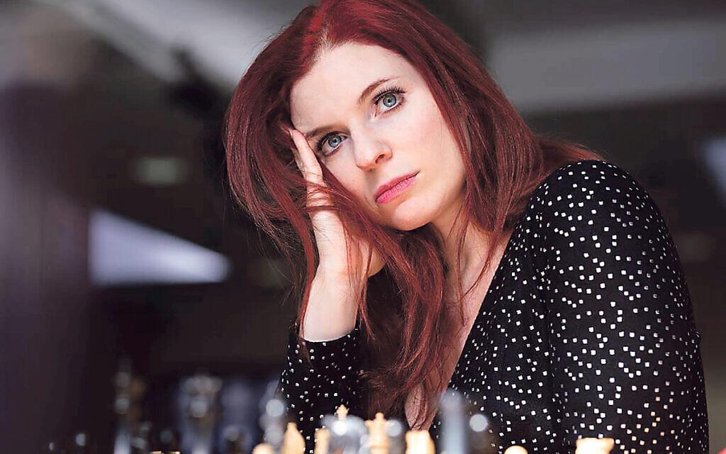 Jennifer Shahade, Woman Grandmaster and the two-time US Women's Chess Champion. Credit: WFM Maria Emelianova