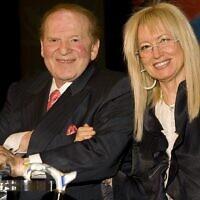 Sheldon and Miriam Adelson (Wikipedia/AuthorUnion20/ Attribution-ShareAlike 3.0 Unported (CC BY-SA 3.0))