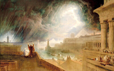 John Martin's artdepicting plague in Egypt