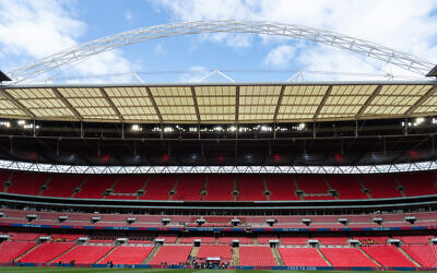 Wembley Stadium.  Photo: Jed Leicester for The FA