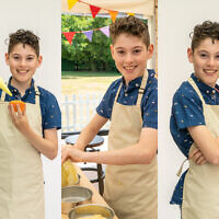 Zack, 13, is one of the contenders in this year's Junior Bakeoff!