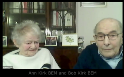 Ann and Bob Kirk featuring on the film