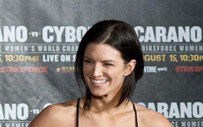 Gina Carano (Wikipedia/ Sourcehttps://www.flickr.com/photos/acidhelm/4213896785/. Author: https://www.flickr.com/photos/acidhelm/ (Michael Dunn) / Attribution 2.0 Generic (CC BY 2.0))
