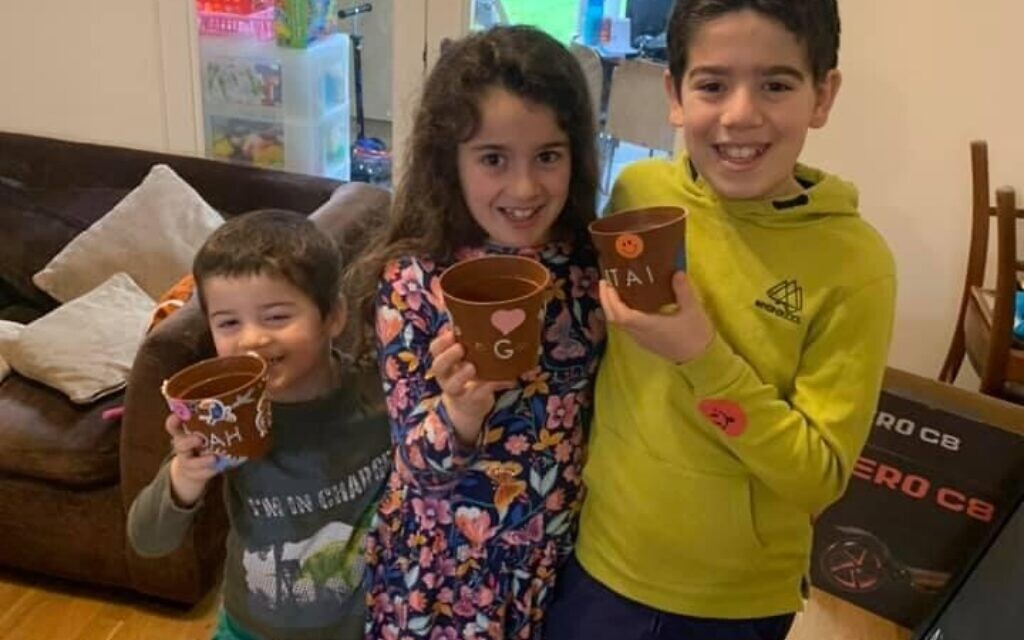 Youngsters at Hertsmere Jewish Primary School in Radlett enjoyed a fruitful Tu B'Shevat