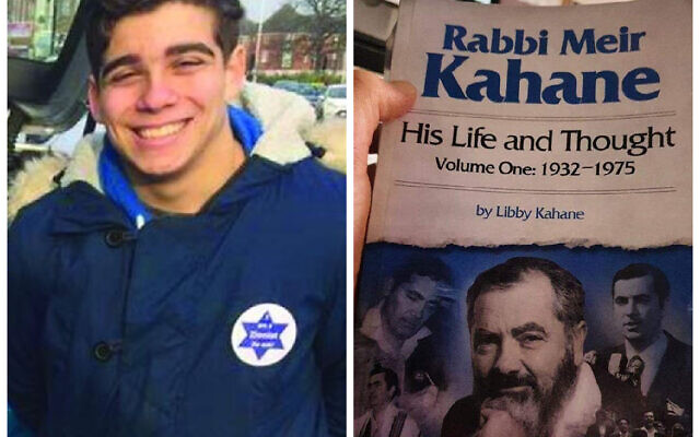 Harry Markham and an instagram post where he holds a book by Kahane