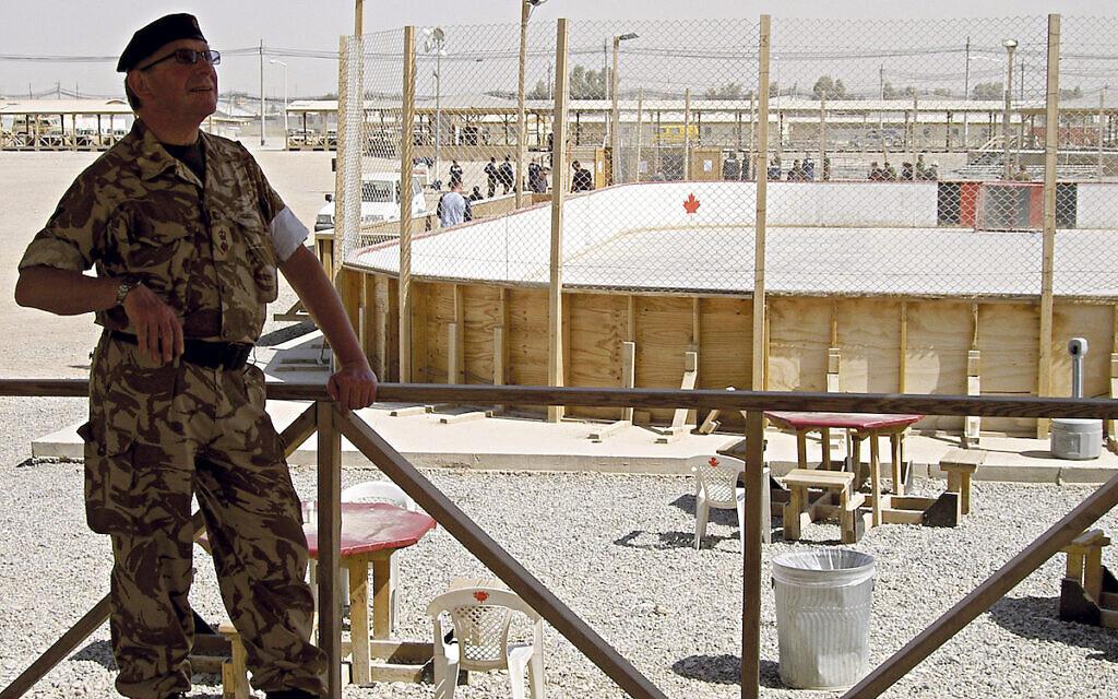 Colin Shieff in Kandahar, Afghanistan
