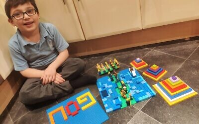 Jake Dorling, six, from Wohl Ilford Jewish Primary School