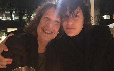 Yaara, with her mum Lea