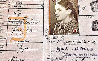 Arriving and Belonging: Hanna Singer's ID card