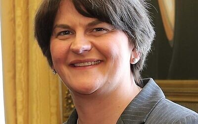 Arlene Foster (Wikipedia/Source	https://www.flickr.com/photos/horasis/9163523833 Author	Richter Frank-Jurgen/ Attribution-ShareAlike 2.0 Generic (CC BY-SA 2.0))