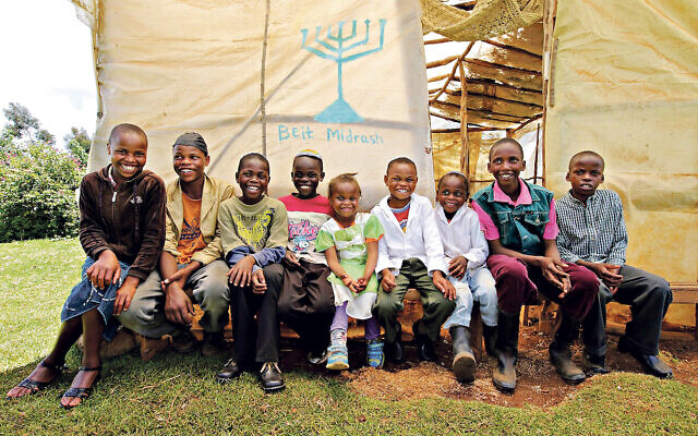Children of the Kasuku Jewish-Community, Kenya