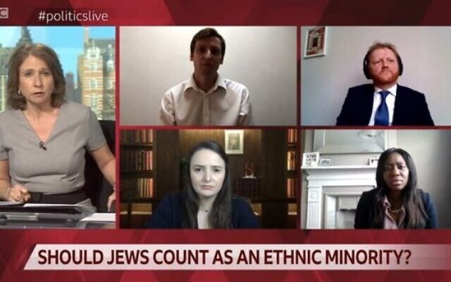 The debate asked whether Jewish people should be counted as an ethnic minority