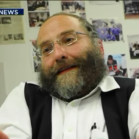 Undated image of Jacob Daskal, the president of the Shomrim Brooklyn South Safety Patrol. (screen capture: New York Daily News - via Times of Israel)