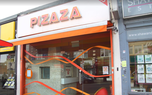 Pizaza in Hendon (Image: Google Maps)