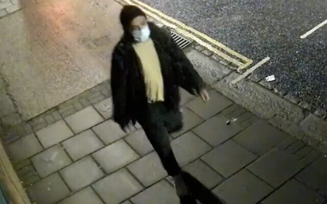 A CCTV still of the man police wish to speak to in connection with the incidents (Image: Met Police)