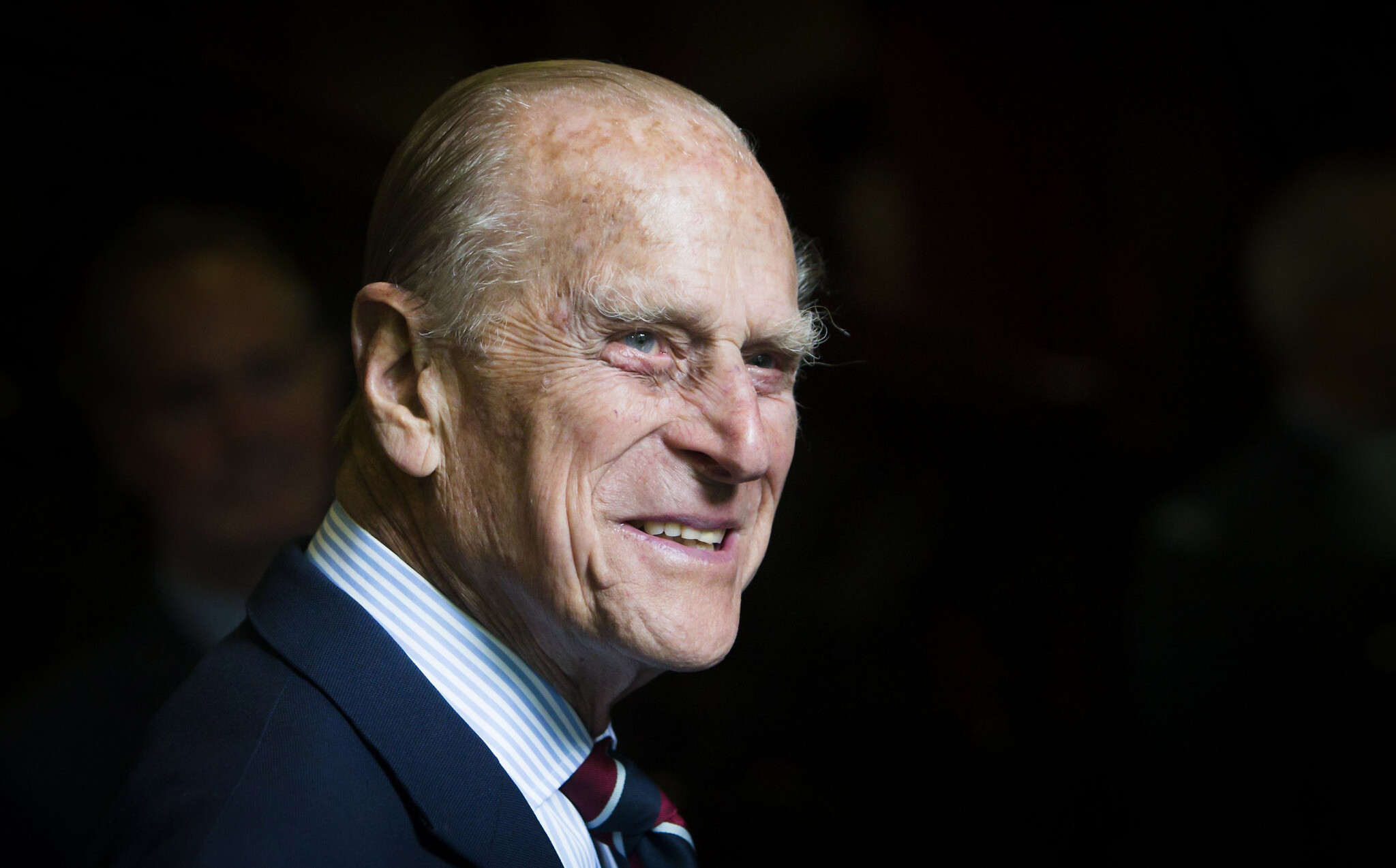File photo dated 04/07/15 of The Duke of Edinburgh during a visit to the headquarters of the Royal Auxiliary Air Force's (RAuxAF) 603 Squadron in Edinburgh Danny Lawson/PA Wire