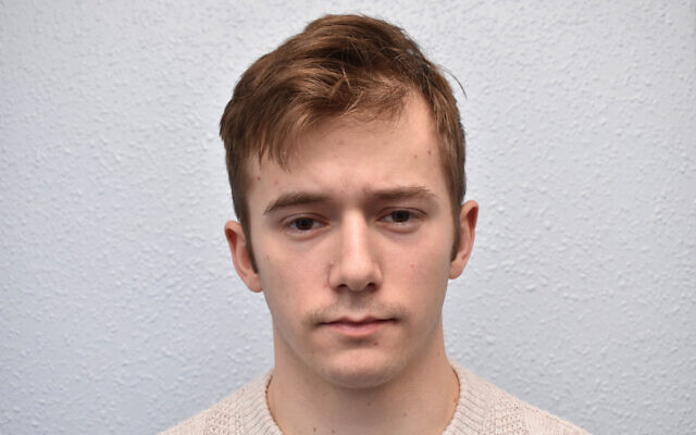 Pc Ben Hannam, 22, who has become the first British police officer to be convicted of belonging to a banned neo-Nazi terror group.