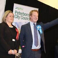Paul Bristow won the Peterborough seat from Labour's Lisa Forbes in 2019