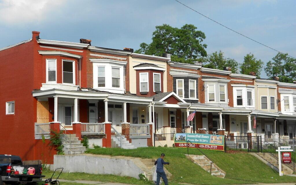 Park Circle Historic District, Baltimore, Maryland