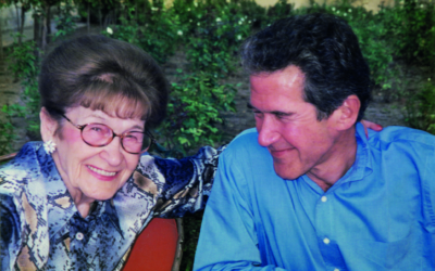 Lord Browne, with his mother Paula
