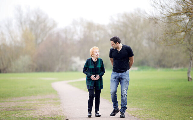 Ronnie O'Sullivan with Eve Kugler