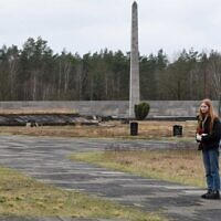 Alice Bebber at Belsen