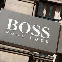 Campaigners have criticised Hugo Boss's record in China (Photo: Alamy)