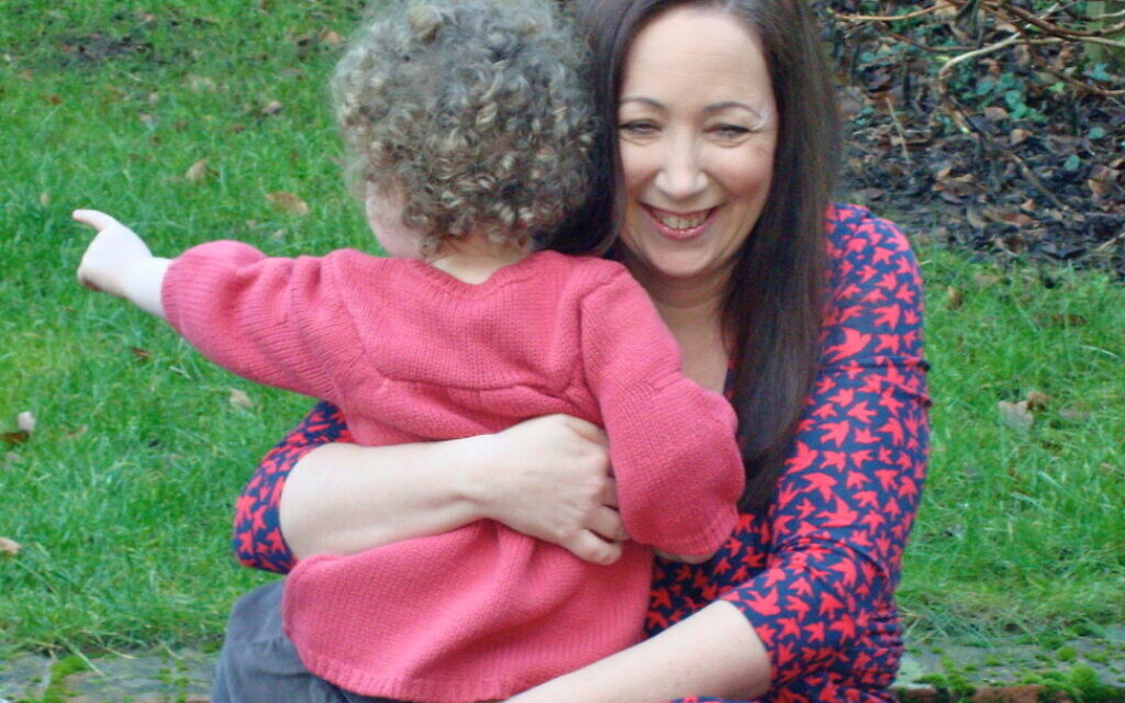 Cari Rosen challenged why she was labelled a 'geriatric' when she fell pregnant aged 42