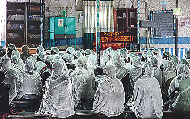 Hatikvah Jewish community in Gondar, Ethiopia