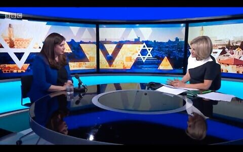 Tzipi Hotovely on Newsnight with Emily Maitliss