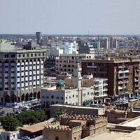 Tripoli (Wikipedia/Source: originally posted to Flickr - https://www.flickr.com/photos/12394349@N06/2269421369 /  Author	Bryn Jones / Attribution 2.0 Generic (CC BY 2.0)  https://creativecommons.org/licenses/…)