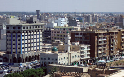 Tripoli (Wikipedia/Source: originally posted to Flickr - https://www.flickr.com/photos/12394349@N06/2269421369 /  AuthorBryn Jones / Attribution 2.0 Generic (CC BY 2.0)  https://creativecommons.org/licenses/…)