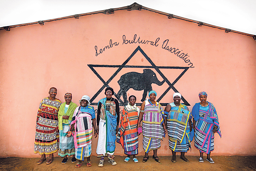 Lemba community members, in Manavhela, Limpopo Province, South Africa