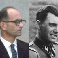 Adolf Eichmann and Josef Mengele