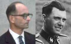 Adolf Eichmann and Josef Mengele