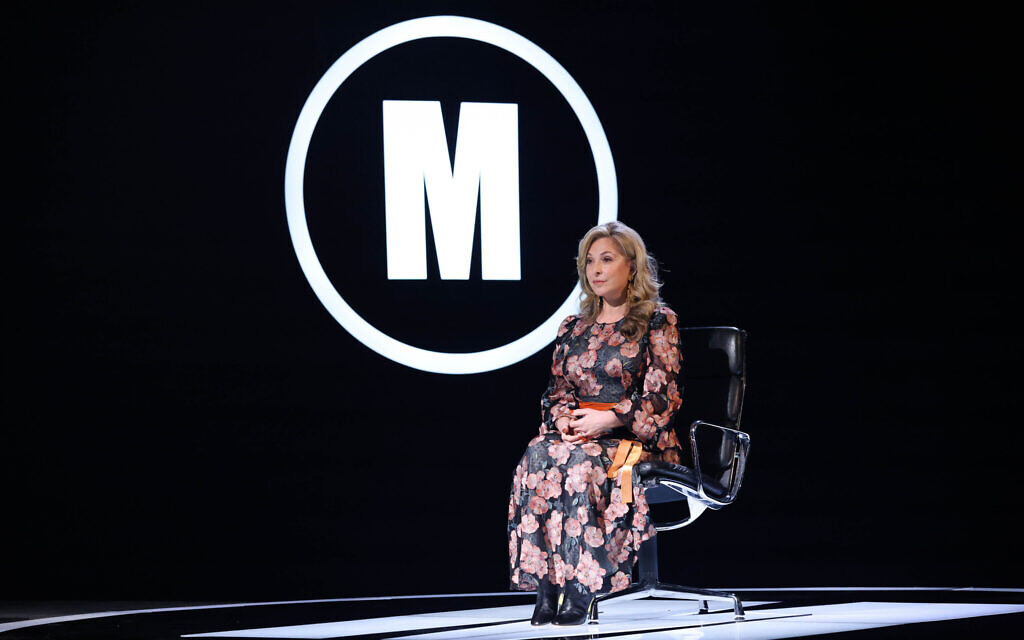 Celebrity Mastermind -   Tracy-Ann Oberman - (C) (Hindsight/Hat Trick Productions - Photographer: Kelvin Boyes/Press Eye)