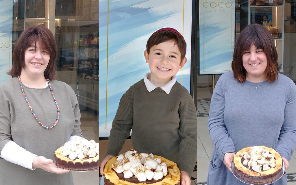 The three winners of our cheesecake competition